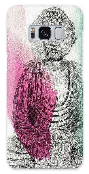 Modern Buddha Galaxy Case