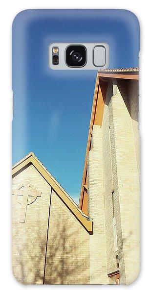 Bury St Edmunds Galaxy Case - Modern Church Exterior by Tom Gowanlock