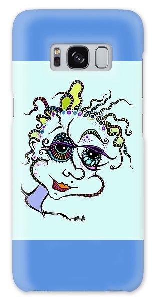 Modern Day Medusa Galaxy Case by Tanielle Childers