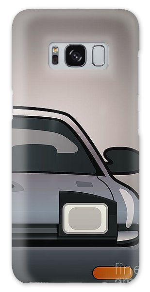 Front Galaxy Case - Modern Japanese Icons Series Toyota Celica  Gt-four All-trac Turbo St185 Split by Monkey Crisis On Mars