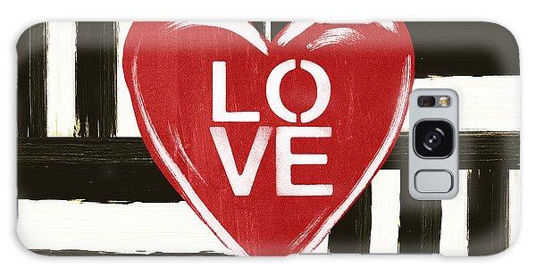 Heart Galaxy Case - Modern Love- Art By Linda Woods by Linda Woods