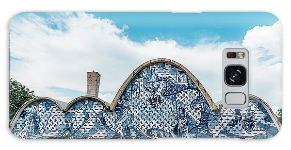 Modernist Church Of Sao Francisco De Assis In Belo Horizonte, Brazil Galaxy Case