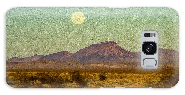 Mohave Desert Moon Galaxy Case