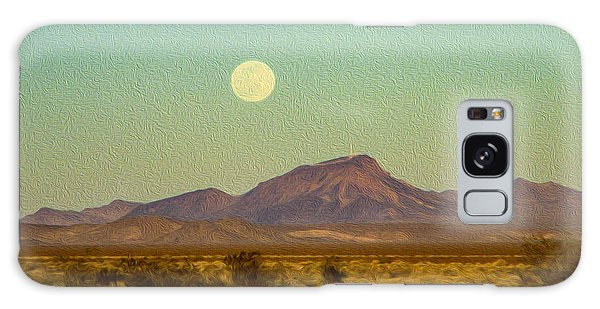 Mohave Desert Moon Galaxy Case