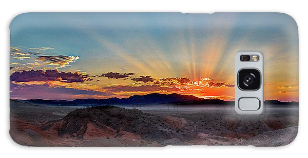 Mohave Sunrise Galaxy Case