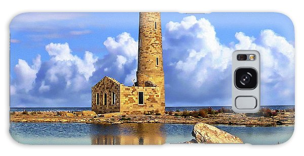 Mohawk Island Lighthouse Galaxy Case