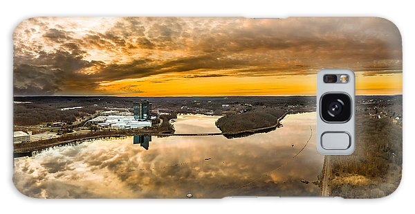 Mohegan Sun Sunset Galaxy Case