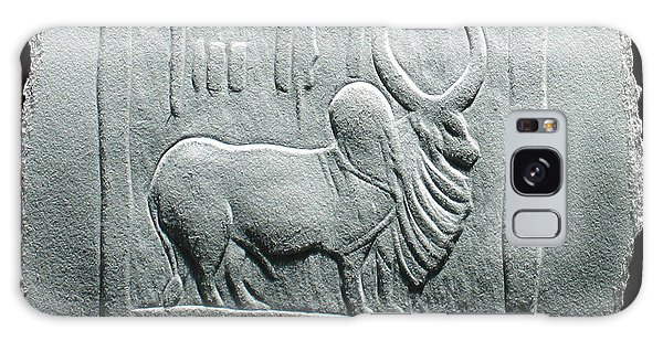 Mohenjodaro Seal Relief Drawing Galaxy Case by Suhas Tavkar