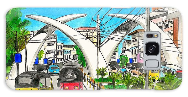 Moi Ave, Mombasa Tusks  Galaxy Case