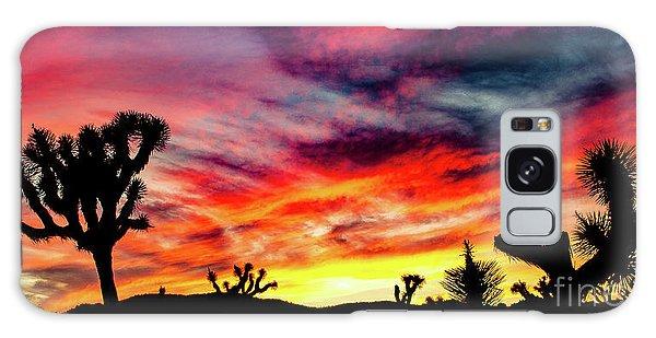 Mojave Sunset Galaxy Case