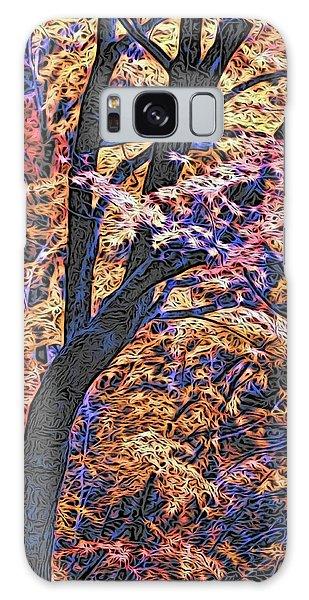 Moku Hanga Autumn Galaxy Case