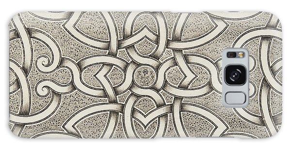 Decorative Galaxy Case - Mollet Design For A Parterre by Andre Mollet