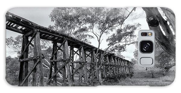 Galaxy Case featuring the photograph Mollisons Creek Trestle Bridge by Linda Lees