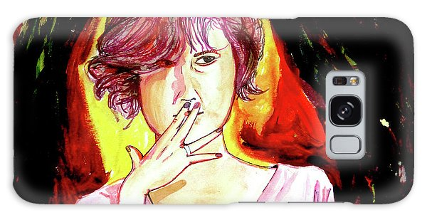 Galaxy Case featuring the painting Molly by eVol i