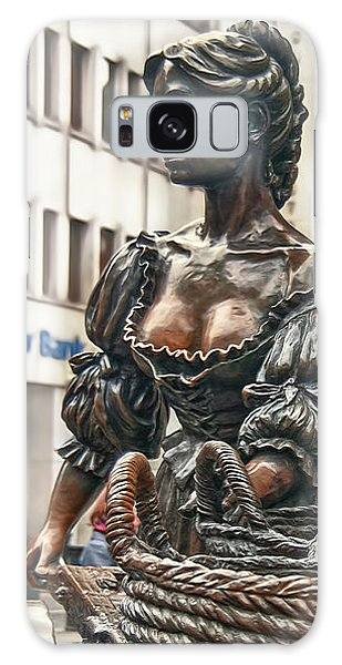 Galaxy Case featuring the photograph Molly Malone by Hanny Heim