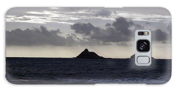 Molokai From Oahu Galaxy Case