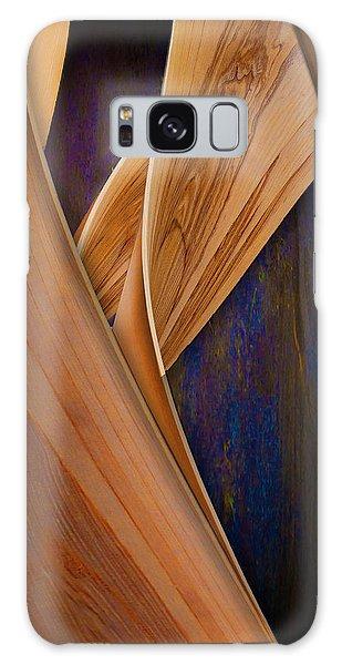 Molten Wood Galaxy Case