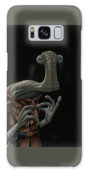 Hammerhead Shark Galaxy S8 Case - Momaw Nadon by Jasper Oostland