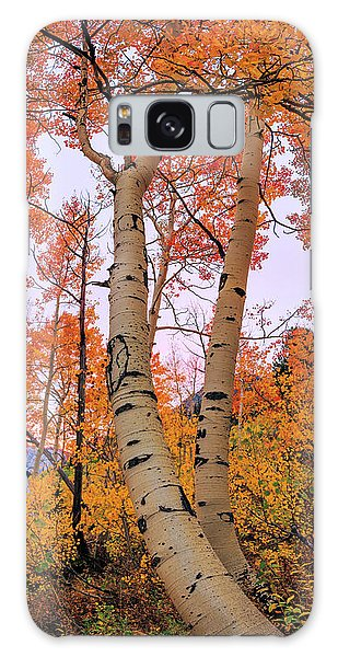 Foliage Galaxy Case - Moments Of Fall by Chad Dutson