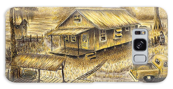 Old Truck Galaxy Case - Momma's Heavenly Mansion by Peter E Malbrough