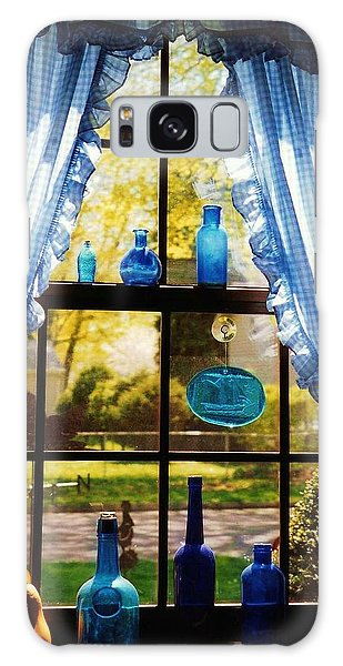 Mom's Kitchen Window Galaxy Case by John Scates