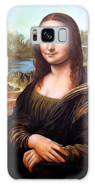 Mona Lisa After Leonardo Galaxy Case
