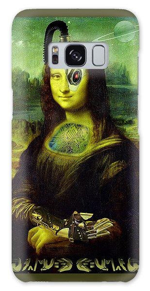 Mona Lisa Borg Galaxy Case by Robert Kernodle