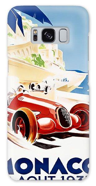 Monaco Grand Prix 1937 Galaxy Case