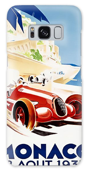 Monaco Grand Prix 1937 Galaxy Case