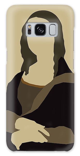 Girl With A Pearl Earring Galaxy Case - Monalisa by Rafael Gomes