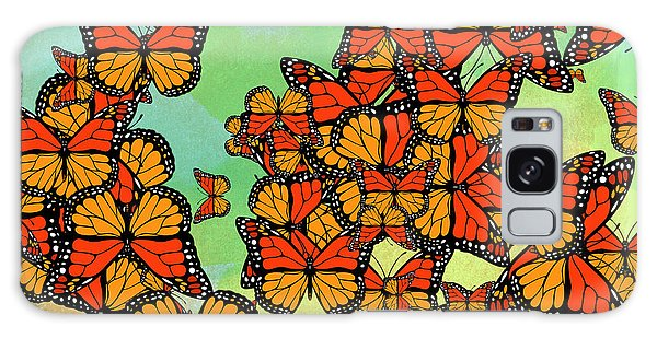 Autumn Galaxy Case - Monarch Butterflies by Gaspar Avila