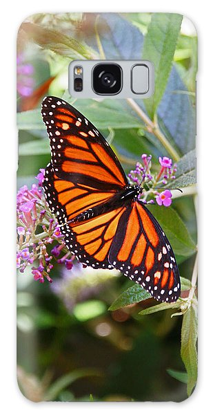 Monarch Butterfly 2 Galaxy Case by Allen Beatty
