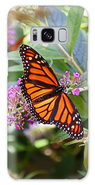 Monarch Butterfly 2 Galaxy Case