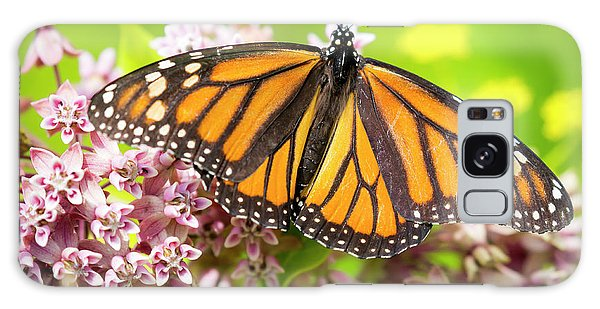 Galaxy Case featuring the photograph Monarch Butterfly Closeup  by Ricky L Jones