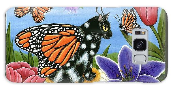 Monarch Butterfly Fairy Cat Galaxy Case