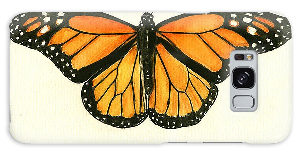 Insects Galaxy Case - Monarch Butterfly by Juan Bosco
