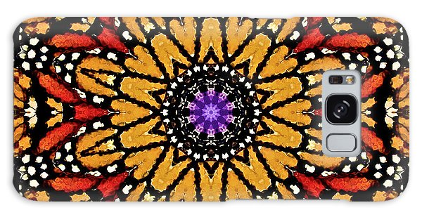 Monarch Butterfly Wings Kaleidoscope Galaxy Case