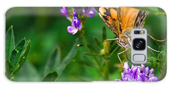 Monarch Galaxy Case by Marlo Horne