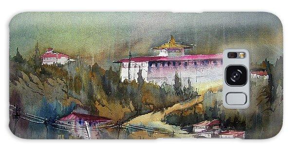 Monastery In Mountain Galaxy Case by Samiran Sarkar