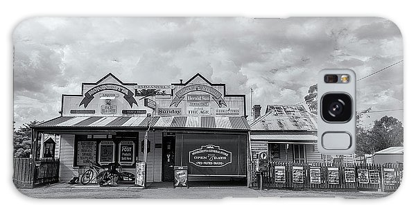 Galaxy Case featuring the photograph Monegeetta General Store by Linda Lees