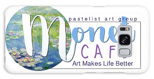 Monet Cafe' Products Galaxy Case