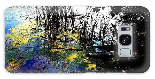 Monet Ice Age Pond Galaxy Case