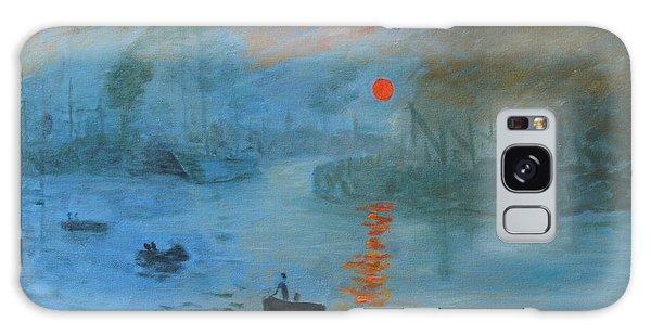 Monet Sunrise By Dg Galaxy Case
