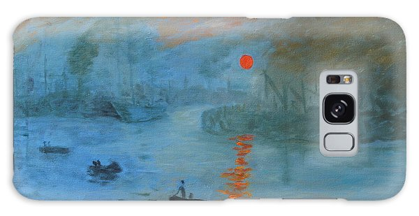 Monet Sunrise By Dg Galaxy Case