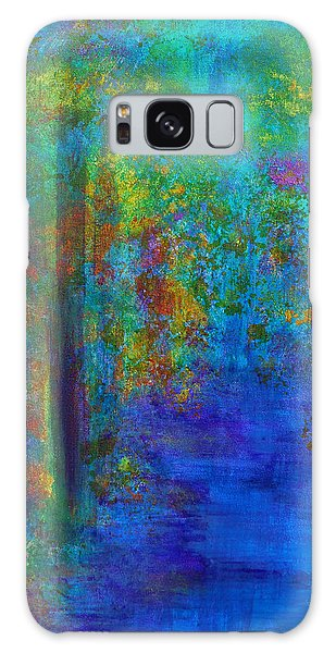 Monet Woods Galaxy Case by Claire Bull
