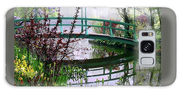 Monet's Bridge Galaxy Case by Jim Hill