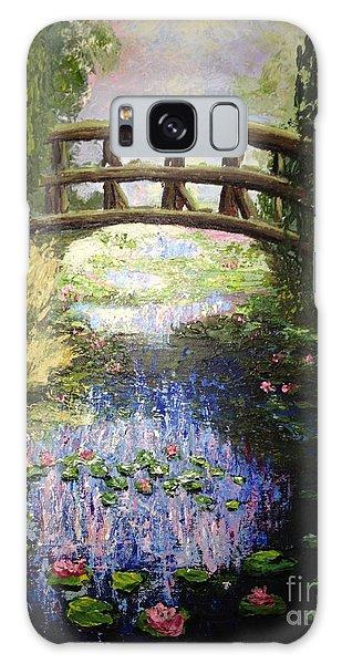 Monet's Bridge Galaxy Case