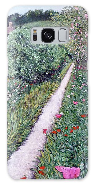 Monet's Garden Path Galaxy Case