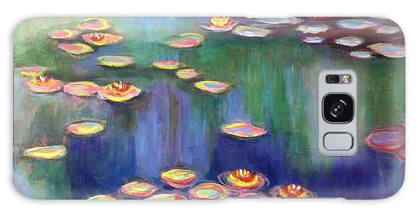 Monet's Lily Pads Galaxy Case