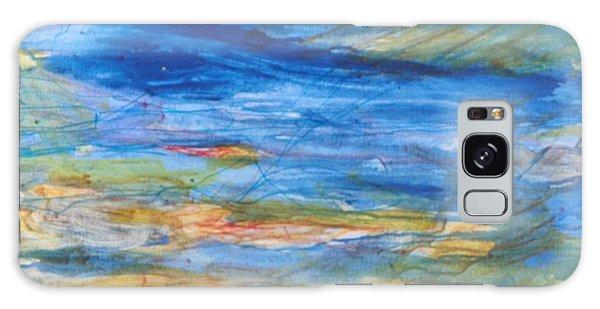 Monet's Pond Galaxy Case